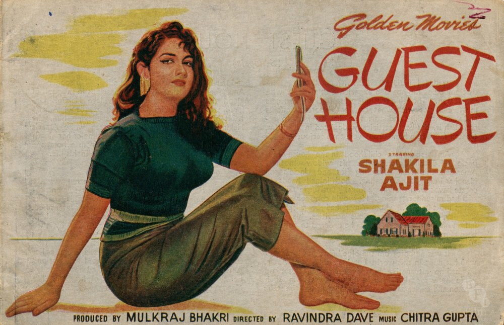 Vintage Film Posters from the Golden Age of Indian Cinema